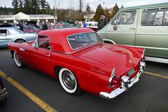 1955 TBird (bballchico) Tags: 1955 ford tbird carshow newyearscoolcarcruise thunderbird