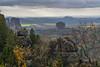 ausgegrenzt - excluded (ralfkai41) Tags: autumn landschaft sächsischeschweiz elbsandsteingebirge herbst saxoniansitzerland falkenstein felsen mountains berge landscape nature elbesandstonemountains natur rocks