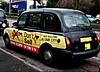 Liverpool Black Cab blocks out 'The Sun' (ronramstew) Tags: thesun tabloid hillsborough taxi advert liverpool merseyside cab black