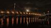 Moonrise Over the Anzac Bridge (Dave Whiteman - AU) Tags: nightshot anzacbridge moonlight blackwattlebay longexposure sydneyharbour