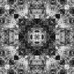1834963842 (michaelpeditto) Tags: art symmetry carpet tile design geometry computer generated black white pattern