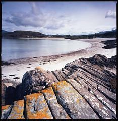 Morar (Mark Rowell) Tags: morar scotland highlands hasselblad 903 swc 6x6 120 mediumformat kodak ektar landscape film