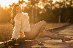 Yesenia at Apoxee Trail by C Rankin -