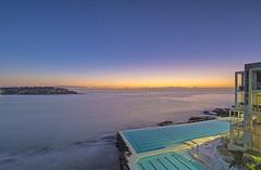 Bondi Icebergs Sunrise (Tony Hugo) Tags: bondi bondiicebergs au australia water swim heat heatwave sunrise ocean oceanpool pool iconic nsw sydney bondibeach newsouthwales