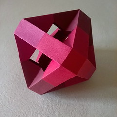 Ottaedro tronco traforato - Paolo Bascetta (Stefano Borroni (Stia)) Tags: origami papiroflexia origamilove origamiart origamicdo2017 folding paper carta piegarelacarta cdoitalia arte bascetta modulare modular ottaedro octahedron geometria paolobascetta arteinpiega