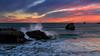 sea strength (Koldobika Arriaga) Tags: amanecer atlantic cantabriko egunsentia isla landscape ocean paisaje paisajea seascape sunrise