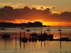 Sunrise on a cold morning (ExeDave) Tags: pc127240 exe estuary starcross teignbridge devon sw england gb uk exmouth marina tidal coastal river landscape dawn sunrise moored boats silhouettes sssi spa natura natura2000 n2k site ramsarsite iba december 2017 reflections