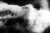 (willy vecchiato) Tags: double exposure doppia esposizione ritratto portrait fineart sea mare water occhi eyes blackandwhite biancoenero monochrome monocramatico mono 2017 fuji x100s abstract noir dark oscura obscure motion grain people face viso tempesta