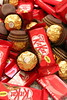 Kitkat & Rocher (Voyage Photography) Tags: chocolates cocoa sweet sweettooth candy ferrerorocher canon eos70d canonphotography food foodie