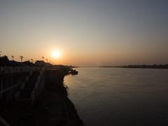 PC196510 (tatsuya.fukata) Tags: thailand nongkhai mekongriver river sunset