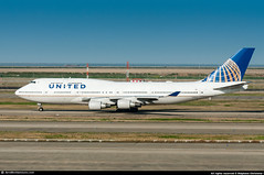 PVG.2016 #UA #B744 #N121UA #UA747Farewell #AWP (CHR / AeroWorldpictures Team) Tags: united airlines boeing 747422 29167 1211 eng 4x pw pw4056 reg n121ua rmk fleet number 8421 history aircraft first flight built site everett kpae delivered unitedairlines ua ual config cabin f12c52y310 painted staralliance special colours stored tupelo ktup b747 b744 b747400 planes aircrafts airplane plane planespotting shanghai pvg airport china 1999 2016 nikon d300s nikkor 70300vr lightroom raw aeroworldpictures awp usa farewell 747 us