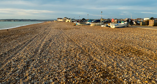 Seaford Beach in December