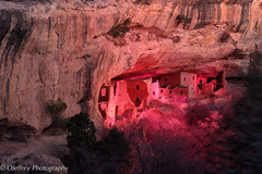 Merry Christmas! (OJeffrey Photography) Tags: colorado co mesaverdenationalpark mesaverde mvnp cliffdwelling pueblo luminary nikon