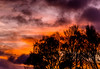 Morning (chapdav) Tags: sunrise redsky darkclouds