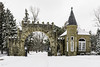 Elm Lawn Cemetery - Bay City, Michigan (TAC.Photography) Tags: elmlawn baycity cemetery limestone winter snow tomclarkphotographycom tacphotography tomclark d7100 historic stonework stone arch architecture