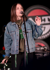 Alice Merton 12/13/2017 #33 (jus10h) Tags: alicemerton alice merton alt 987 penthouse altana apartment homes glendale losangeles california female singer songwriter european young beautiful sexy talented artist band musician live music concert gig event private show performance venue rooftop pool photography nikon d610 2017 justinhiguchi photographer