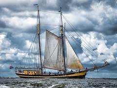 Sail away (MAICN) Tags: colorfull boot sailing himmel segeln 2master norderney wellen nordsee clouds schiff ship ocean sailingboat wasser water seascape sea sky boat northsea segelboot wolken 2016