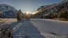 Tramonto sul lago ghiacciato. (valpil58) Tags: lagodelpredil landscape sunset tramonto neve snow mountain friuli tarvisio ultrawideanglelens nikond800 nikon1424mm 4k