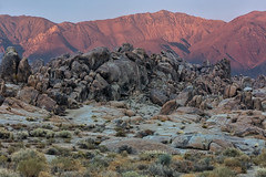 Dusk In The Alabama Hills (chasingthelight10) Tags: events photography travel landscapes highdesert mountains nature rockformations sunset sunsets sunrises sunrise places california lonepine alabamahills