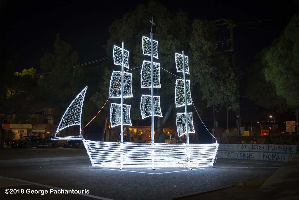 traditional greek christmas boat george pachantouris tags greece christmas decorations - Greek Christmas Decorations