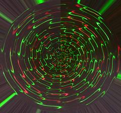 Trapped in the Cosmic Web? (BKHagar *Kim*) Tags: bkhagar light lightpainting laser red green web cosmicweb