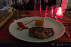 Sava Nature's Cuisine (GenJapan1986) Tags: 2017 ステーキ ベルギー リエージュ 夜 旅行 liège travel belgium fujifilmx70 night food savanaturescuisine