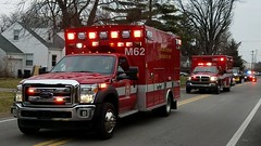 M62 and XM61 (Central Ohio Emergency Response) Tags: clinton township ohio fire division ambulance medic ems ford