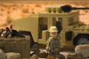 Desert Ops (LegoInTheWild) Tags: moc afol lego minifigure army sidan brickarms unitedbricks humvee desert ussoldier