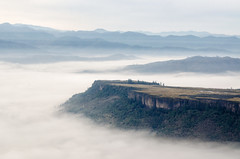 The fog of free (Foodo Dood) Tags: nikon d5100 50mm aerial tablerock rogueriver oregon fog mist surreal overcast