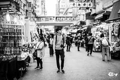 """""""Viajar es mucho más que ver cosas; es un cambio profundo y permanente de las ideas de la vida"""" (Pez Fotografia) Tags: 2017 hongkong ladiesmarket asia infopezfotografiacom pezfotografia wwwpezfotografiacom mongkok streetphotography street bw wanderlust"""