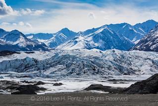 Foot of the Matanuska Glacier