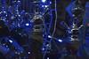 Sci-Fi Shisha (robinshepperson) Tags: shisha berlin moabit germany street city smoke blue lights christmas scifi alien metal shop window nikon d3400 wires colours