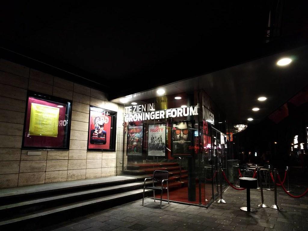 Groninger Forum #cinema #nightshot #posters #architecture