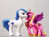 (LegionCub) Tags: mylittlepony mlp fim g4 minis friendship magic horse figure shiningarmor princesscadence unicorn pegasus