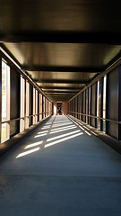M Kirby Medical Center Walkway to Carle Clinic (razed Oct 2017 for new addition), 1000 Medical Center Dr, Monticello, IL 20170804 (RLWisegarver) Tags: piatt county history monticello illinois usa il
