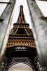 Eiffel tower behind metal fences (Thys Photography) Tags: eiffeltower fence parijs paris iron champdemars tower
