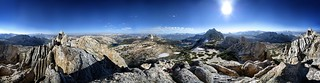 Panorama from Echo Peaks - Yosemite