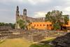 Three Cultures Square (Chemose) Tags: mexico mexique mexicocity église church ruin ruine aztèque aztec placedestroiscultures plazadelastresculturas square tlatelolco canon eos 7d mars march threeculturessquare