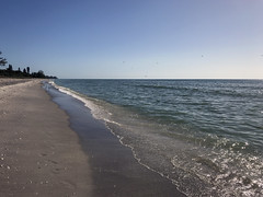 "manasota key (""One who sits by the fire"") Tags: florida beach shoreline shore surf gulfcoast gulfofmexico winter manasotakey"