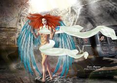 Apocalypse (Saori Rotaru (SL Name)) Tags: photograph sorcerer devil angel secondlife photoshop maitreya apocalypse