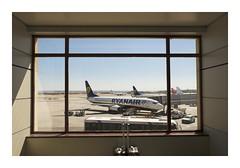 _JP16080 (Jordane Prestrot) Tags: jordaneprestrot aéroport aeropuerto airport avion avión plane valise luggage maleta madrid ryanair ♍