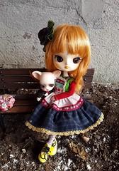 Fake outfits - Delorean Multinic (Lunalila1) Tags: doll groove aga dal tweety handmade outfit delorean fake multinic pangju bjd chihuahua animal rambu
