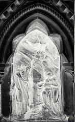 St Lawrence & Mary Magdalene (Мaistora) Tags: fountain shrine tabernacle building feature sculpture street stpauls effect filter manipulation edit postprocessing xray negative bw mono monochrome film mirrorlab