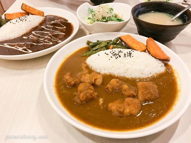 咖哩飯套餐只要120,咖哩醬.白飯吃到飽!微想咖哩【新北美食】Thinking Curry @J&A的旅行