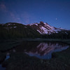 Cascade Lagoon (Maddog Murph) Tags: mt jefferson cascades oregon national park reflection alpineglow milky way shooting star summer asteroid falling twilight sky stars nighttime astro lake pond mountain