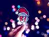 Navidad con booh (Danny Boligraffiti) Tags: noche negro night navidad fantasma sueños arte art aerosol azul wallpaper calle happy imaginacion graffiti character original color follow booh photograpy photo pictures picture cromo quito texto text christmas ecuador dream diseño dibujo desenfoque