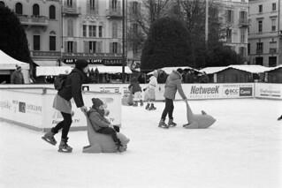 Skating in Como