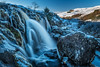 Loup of Fintry Winter Wonderland (roseysnapper) Tags: loupoffintry nikkor2470f28 nikond810 circularpolarizer scotland cascade clear freezing ice icicle landscape outdoor river rocks sky snow water waterfall winter rock