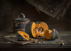 Still life with pumpkin (Evgeny Kornienko) Tags: still life pumpkin
