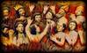 EL INFIERNO TAN TEMIDO (FOTOS PARA PASAR EL RATO) Tags: churubusco cdmx méxico santos almas museo iglesia infierno retablo
